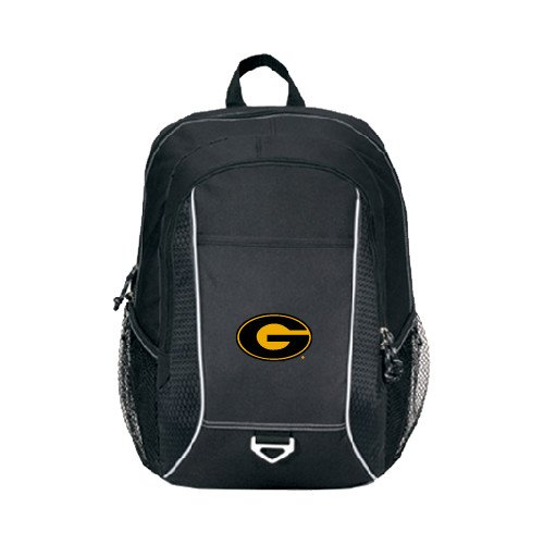 Grambling State Atlas Black Computer Backpack 'Official Logo' by CollegeFanGear