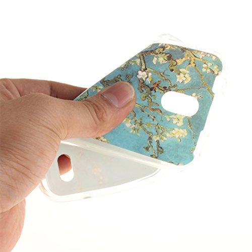 Cas De Téléphone Scratch Silicone Motif Bord Protection Hozor Couverture En flower Arrière Résistant Pear Antichoc Fit Transparent Slim Huawei De TPU Souple Y625 Peint Cas H8xUa68pq