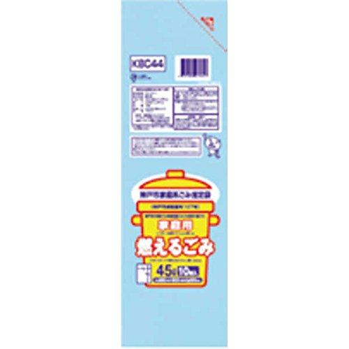 神戸市 燃えない30L10枚入透明 KBC33 【まとめ買い(60袋×5ケース)合計300袋セット】 38-604 B00PL9EWJK