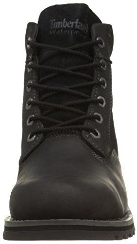 Timberland Larchmont FTM_Larchmont 6in WP Boot - botas de cuero hombre negro - negro