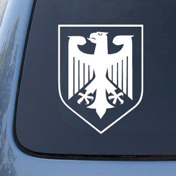 GERMANY CREST Truck Notebook Sticker