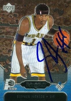 Image Unavailable. Image not available for. Color  Stephen Jackson  autographed ... 5a22549d8