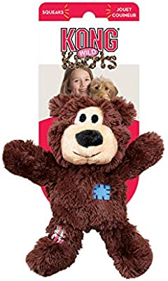 KONG - Wild Knots Bear - Juguete con Cuerdas antirrotura Perros de Raza Pequeña/Mediana: Amazon.es: Productos para mascotas