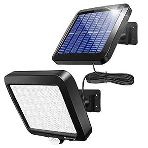 Benma Lampade solari da esterni, luci solari, Lampade da parete per esterni, luci solari da giardino con sensore di… 41q%2BspHE7rL. SS300