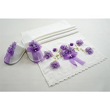 Serra Home Hotel y Spa toallas de terciopelo cinta Business – Zapatillas Suave Algodón turco,
