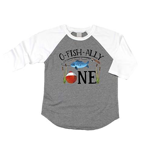 O-Fish-Ally- ONE Boys 1st Birthday Shirt Fishing First