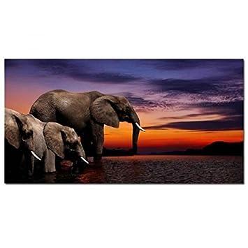 Amazon.de: hexoa bp9029 Wanddekoration Bild Mehrfarbig