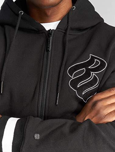 Sudadera Con Rocawear Hombre Para Negro Capucha Op4wBq1
