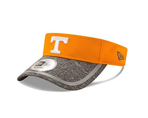NCAA Tennessee Volunteers Adult NE16 Training Visor, One Size, Orange by New Era
