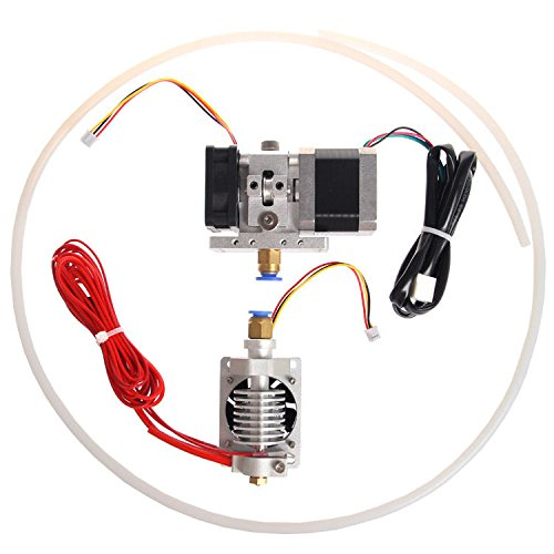 GT9L Bowden extruder J-head V2.0 & motor cooling fan with PTFE tubing from Aigh Auality shop