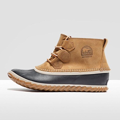 Sorel N About Leather, Botas Chukka Para Mujer Marrón