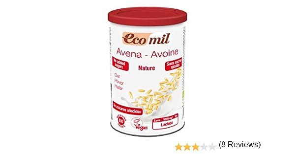 EcoMil - Leche de Avena en polvo EcoMil, 400g: Amazon.es ...