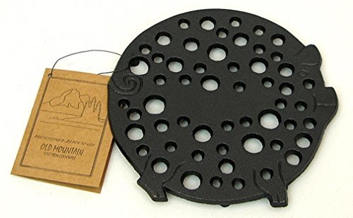 - Old Mountain Cast Iron Pig Trivet by Old Mountain