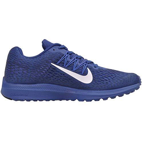 Hombre Blue Zoom Winflo 400 Obsidian White Multicolor 5 Hyper Running para Zapatillas Cobalt Gym NIKE de 0Fq1Wvgv
