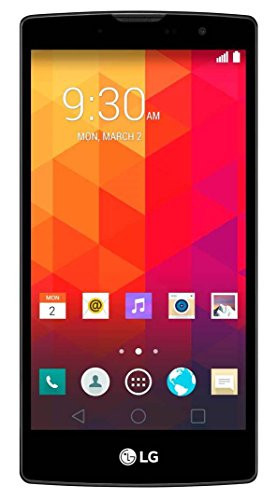 LG Magna Smartphone (12,7 cm (5,0 Zoll) HD IPS-Display, 1,2 GHz-Quad-Core-Prozessor, 8 Megapixel-Kamera, 8 GB interner Speicher, Android 5.0) titan
