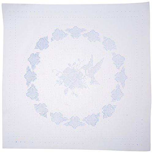 - Tobin Hummingbird Stamped White Quilt Blocks (6/Pack), 18