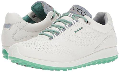 Ecco Golf Shoes. ECCO Women's Biom Hybrid 2 Perforated Golf Shoe, White/Granite Green, 39 EU / 8-8.5 B(M) US #golf