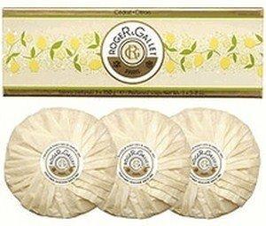 ROGER & GALLET Cedrat (Citron) Perfumed Soap Coffret