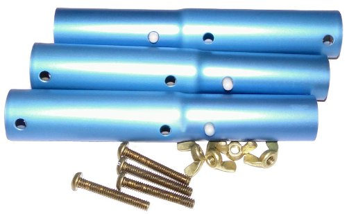 Pentair R221126 147 Pool Pole Adapter with Brass Bolts and Nuts ()