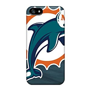 MansourMurray Iphone 5/5s Best Cell-phone Hard Cover Provide Private Custom HD Miami Dolphins Skin [Zow11212aJwV]