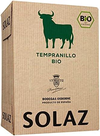 Solaz - Vino Solaz Tinto Tempranillo BIO 4500 ml