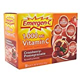 Emergen-C Vitamin C Drink Mix, Cranberry Pomegranate, 30 Packets Review