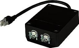 KISAE Technology TS15A 15 Amp Transfer Switch