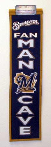 Winning Streak MLB Milwaukee Brewers Man Cave Banner