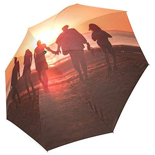 FavorPlus-Umbrella Family Photo Image Picture DIY Personalized Custom Design Sun/Rain All Wheather Foldable Umbrella Gifts