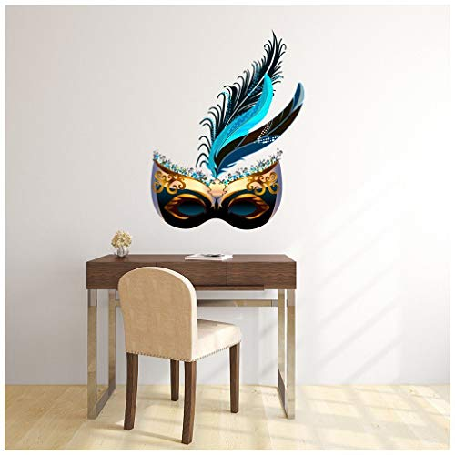azutura Masquerade Mask Ball Dance Wall Decal Sticker Available in 8 Sizes Digital