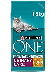 Purina One BIFENSIS urinaire verzorging kattendroog voering: rijk aan kip & tarwe, voor gezonde urewegen, nieren, huid, mooie vacht, 6-pack (6 x 1,5 kg)