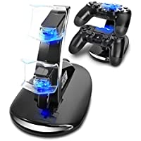 SUNKY LED Gaming Console Charging Stand for Sony PS4