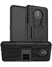 Nokia 5.3 Case, Nokia 5.3 Hybrid Case, Dual Layer Protection Shockproof Cover Hybrid Rugged Case with Kickstand for Nokia 5.3
