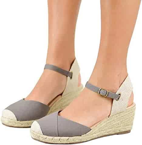 17367ee74d799 Shopping Grey - 1 Star & Up - Platforms & Wedges - Sandals - Shoes ...
