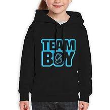 Vintopia Teen Boys Team Boy Classic Walk Black Hoodies