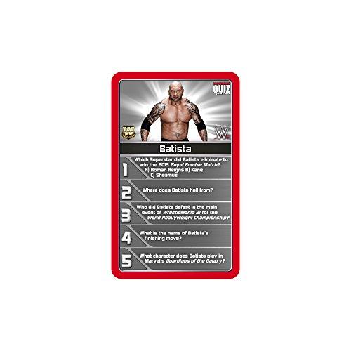 Top Trumps WWE Quiz Game