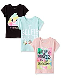 The Children's Place Girls' Her Favorite Tees (Pack of 3)
