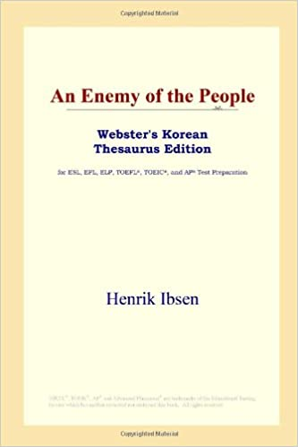 An Enemy of the People (Websters Korean Thesaurus Edition)