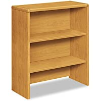 10700 Series Bookcase Hutch, 32 5/8w x 14 5/8d x 37 1/8h, Harvest, Sold as 1 Each