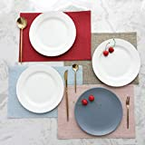 Home Brilliant Fabric Placemats Set of 6 Heat