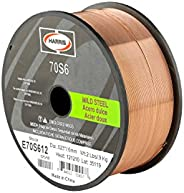 HARRIS E70S6F9 ER70S-6 MS Spool with Welding Wire, 0.035 lb. x 44 lb.