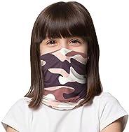 LUNGEAR Kids Face Cover Bandanas Neck Gaiter Headband UV Protection Balaclavas for Boys and Girls Fishing Cycl