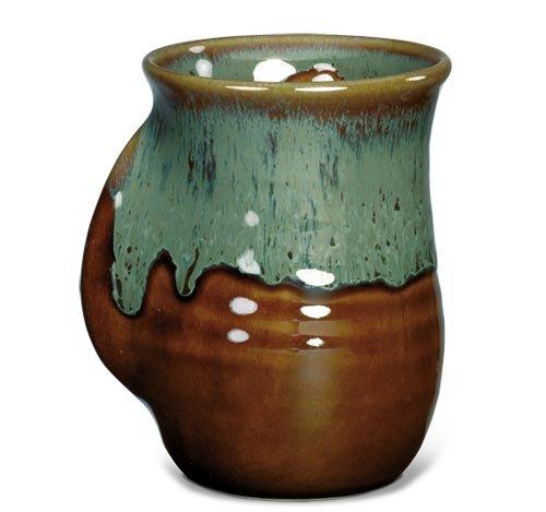 Handwarmer Mug – Mocha – Left Handed