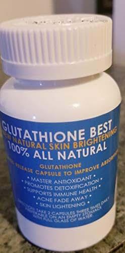 SKIN WHITENING PILLS GLUTATHIONE