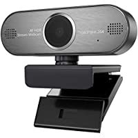 Supertemblor 1080P HD Video Auto Focus Pro Streaming HDR Webcam with Mic USB Widescreen for PC, Laptops and Desktop