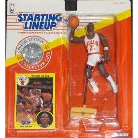 Lineup Starting - Starting Lineup Michael Jordan 1991 (Jumping)