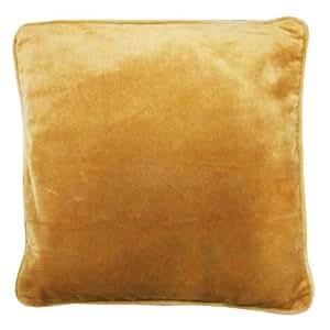 Home Décor Velvet 43cm Cushion Cover Sofa Pillow Case Solid Designer Throw Indian Gift Art 17 Inches