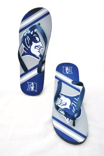 - Duke Blue Devils NCAA Unisex Flip Flop Beach Shoes Sandals slippers size Small