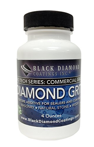(4 Ounce Diamond GRIT PRO TECH Series - Texture Additive for Film Forming Sealers and Coatings for Slip Resistance)