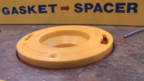 Set-Rite - Toilet Flange Extender Kit (3/4